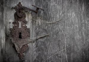 Unheimliche Türe